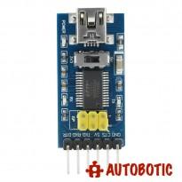 FT232 Downloader FTDI 5.5V/3.3V USB to TTL Serial Adapter Module