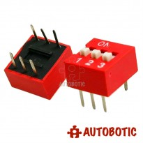 DIP Switch 3 Ways Slide Type