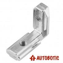 Aluminum Profile 3030 EU T Slot L-Shape Joint Bracket