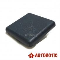 Aluminum Profile 4040 EU End Cap Cover (Black)