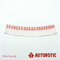 Conjoined Bead LED 5mm (Red)