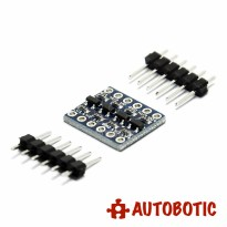 4 Channel IIC I2C UART SPI Logic Level Converter Bi-Directional 3.3V-5V Shifter Module
