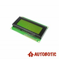 LCD 2004 Yellow Green Backlight Display Module For Arduino (20X4)