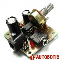 LM386 Super Mini Amplifier Module DIY Kit (DC3V-12V)