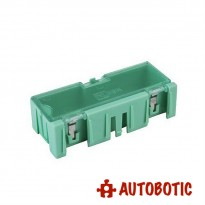 Small SMD IC Chip Electronic Components Storage Box (Green)