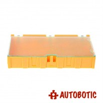 Medium SMD IC Chip Electronic Components Storage Box (Yellow)