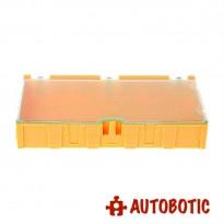 Medium SMD IC Chip Electronic Components Storage Box (Yellow)
