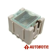 Mini SMD IC Chip Electronic Components Storage Box (Grey)