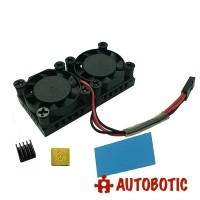 Raspberry Pi Dual Fan Heatsink Cooling Kit