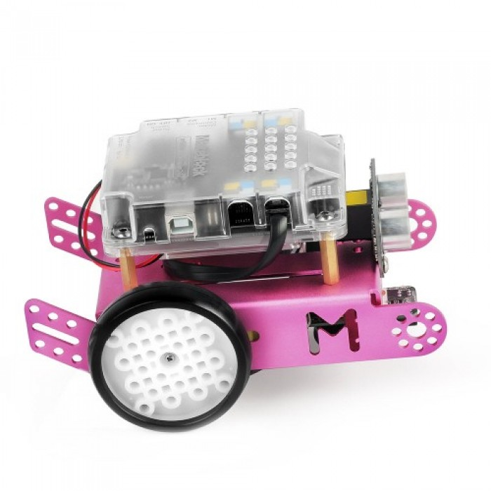 mBot v1 1 - Pink (Bluetooth Version) Chinese Version With English Manual
