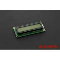 Basic 16x2 Character LCD - Black on Yellow Green 5V (1602A)