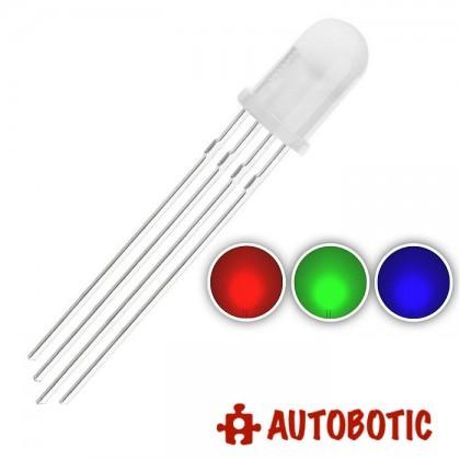 LED 5mm Diffused Common Cathode (RGB)