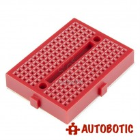 Mini Breadboard 170 Holes 45mmx35mm (Red)