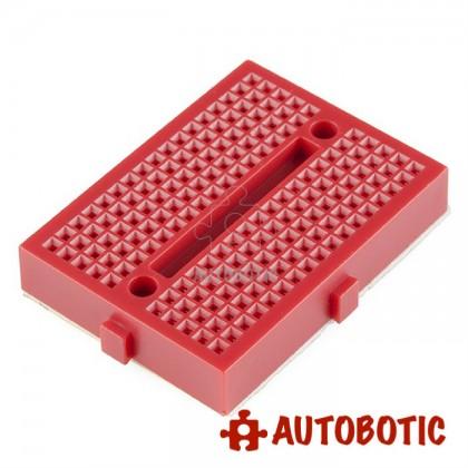 Mini Breadboard 170 Holes 45mmx35mm (Red)