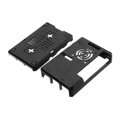 Black ABS Casing For Raspberry Pi 3 B and B+