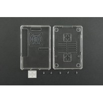Transparent ABS Casing For Raspberry Pi 3 B and B+