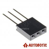 Single Row 3 Pin Stackable Header
