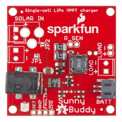 SparkFun Sunny Buddy - MPPT Solar Charger