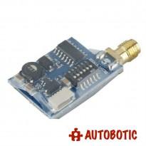 TS5823 5.8G 32 Channel Mini Wireless AV 200mW Transmitter Module With Antenna for FPV Drone