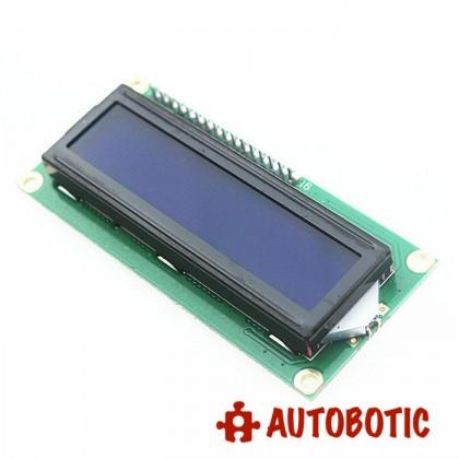 I2C 16x2 Arduino LCD Display Module - White on Blue 5V (1602A)