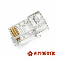 RJ45 Modular Plug Ntework Lan Connector (CAT6)