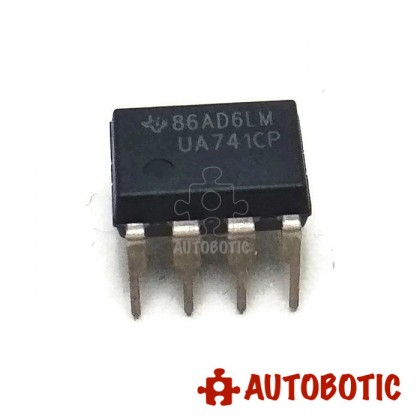 DIP-8 Integrated Circuit IC (LM741) Operational Amplifier