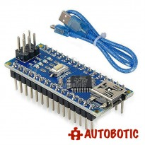Arduino Nano V3.0 Compatible (ATMEGA328P) + USB cable (Made in China)