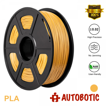 3D Printer 1.75mm PLA Filament 1KG (Gold) [READY STOCK]