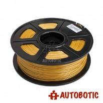 3D Printer 1.75mm PLA Filament 1KG (Gold)
