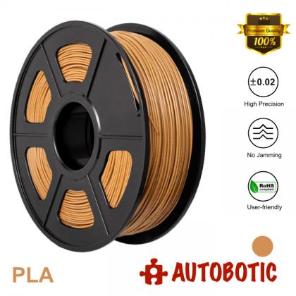 3D Printer 1.75mm PLA Filament 1KG (Brown) [READY STOCK]