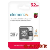 32GB MicroSD Card Preloaded with NOOBs for Raspberry Pi