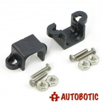 Pololu Micro Metal Gearmotor Bracket Pair - Black