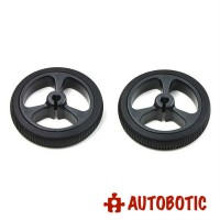 Pololu Wheel 32×7mm Pair - Black