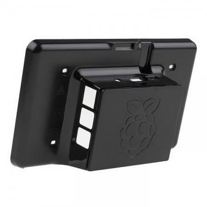 DesignSpark Raspberry Pi Case for Raspberry Pi 7 Inch LCD Touch Screen (Black) [PROMO PRICE]