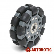 100mm Double Plastic Plate Omni Wheel