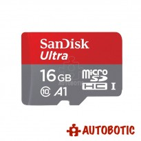 SanDisk 16GB Ultra A1 Micro SD Card 98MB/s Class 10 + Free Adapter