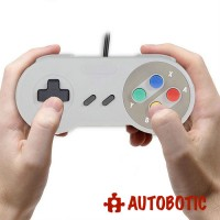 Classic Retro Super Nintendo USB PC Gamepad Controller