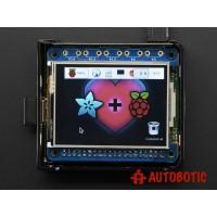 Adafruit PiTFT 2.4 Inch HAT Mini Kit - 320x240 TFT Touchscreen