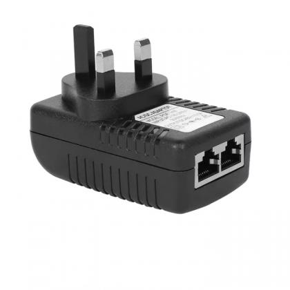 Power over Ethernet Adaptor 48V 0.5A (UK Plug) for POE Hat