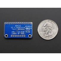 Adafruit 12-Key Capacitive Touch Sensor Breakout - MPR121