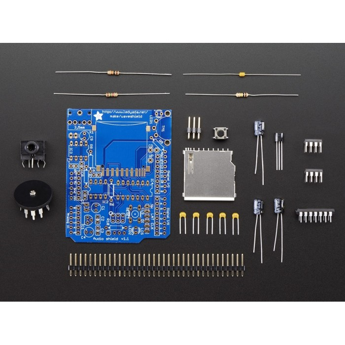 Adafruit Wave Shield for Arduino Kit - v1 1