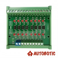 8 Channel Optocoupler Isolation Module (24V to 5V)