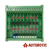 8 Channel Optocoupler Isolation Module (24V to 5V)