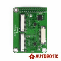 Multi camera Adapter module V2.1 for Raspberry Pi 3B 3B+ both 5MP and 8MP Cameras