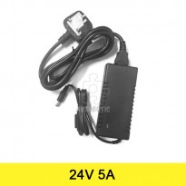 AC to DC Power Adapter 24V 5A (UK Plug)