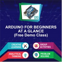 Arduino for Beginners Free Demo/Trial Class (August & September Intake)