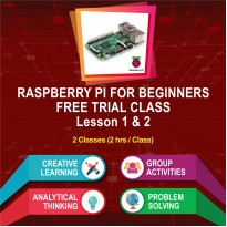 Raspberry Pi for Beginners Free Trial Class (August & September Intake)
