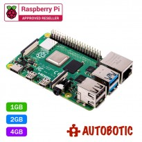 Raspberry Pi 4 Model B (Latest Version) + 1 Yr Warranty (Ready Stock)