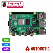 Raspberry Pi 4 Model B (Latest Version) + 1 Yr Warranty + Free Gift (Pre-Order)
