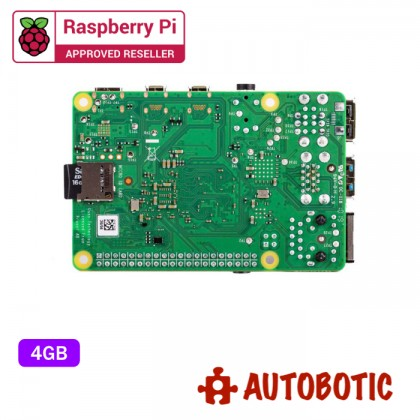 Raspberry Pi 4 Model B (4GB) + 1 Yr Warranty